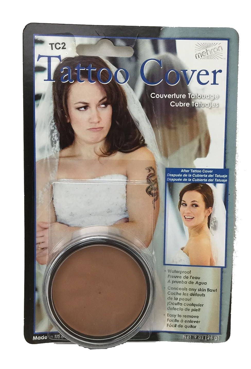 女性むき出し支援するmehron Tattoo Cover - Lightes Color (並行輸入品)