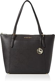 Michael Kors Ciara LG Tote Bag Leather Black (35T8GC6T9L)
