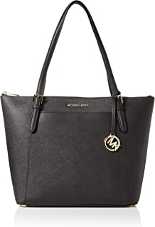 Michael Kors Ciara LG Tote Bag Leather Black (35T8GC6T9L)