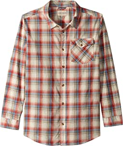 Long Sleeve Plaid Shirt (Big Kids)