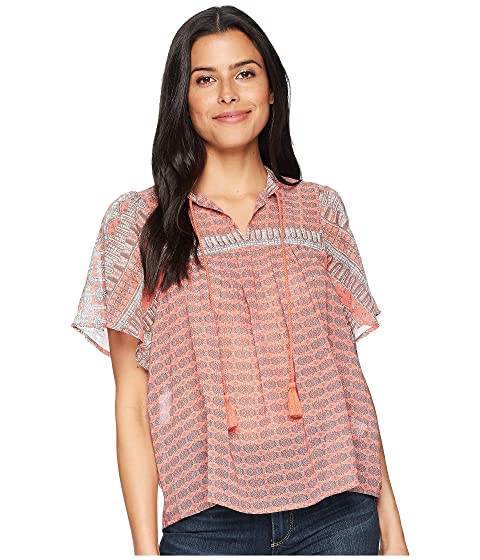 Pink Lucky Peasant Top Brand Multi wHttrYqP