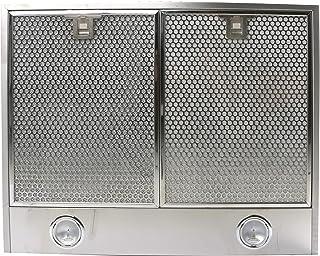 شفاط جداري كهربائي من تكنو كوتشينا، 60 سم، 360 واط، فضي