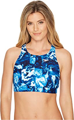 Aqua Elite High Neck Top