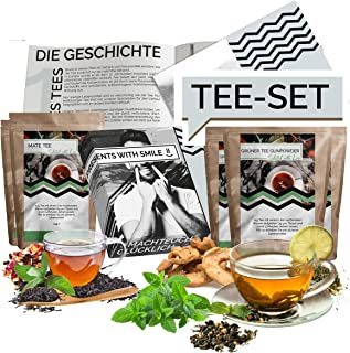 Tea tasting Set l Gift Box to try Teas from around the world | 12x25g Tea World Gift Idea Gift Set for Women Men | special...