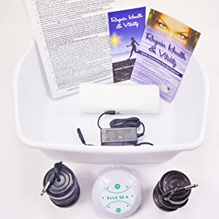 FOOT SPA Ionic Cleanse Detox Foot Bath Detox Foot Spa Machine Spa Chi Cleanse Machine Our