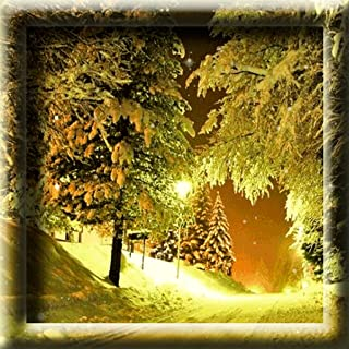 Snowfall Winter Road Live Wallpaper