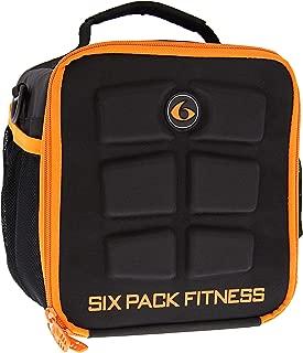 6 Pack Fitness Cube Black/Orange