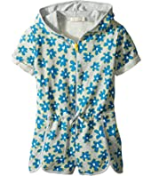 Stella McCartney Kids - Amaya Daisy Print Zip-Up Shorts Romper (Toddler/Little Kids/Big Kids)