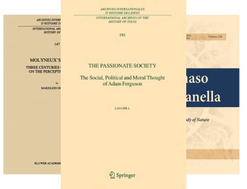 International Archives of the History of Ideas Archives internationales d'histoire des idées (50 Book Series)
