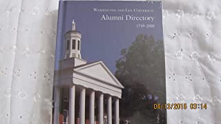 Washington and Lee University Alumni Directory 1749-2000