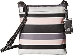 Tommy Hilfiger Julia North/South Crossbody Nylon Victory Stripe