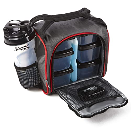 Fit and Fresh Original Jaxx FitPak Insulated Cooler Lunch Box