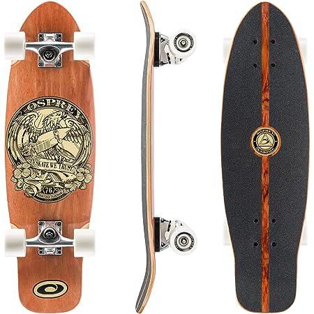 """33/"""" Longboard Skateboard ABEC-11 Ahornholz Sport Funboard Skate Board Kick Neue"""