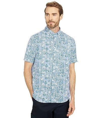 Southern Tide Intercoastal Resort Print Short Sleeve Sport Shirt