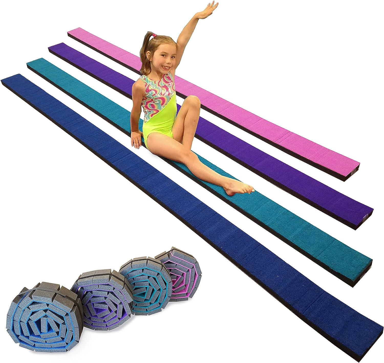 Team Sports Gymnastics Flexible Roll-Up Training Max 70% OFF Foam Fresno Mall Be Balance