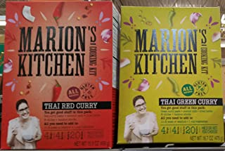 Marion's Kitchen Thai Curry Cooking Kit Variety Pack Red & Green 15.9 oz (Pack of 2)