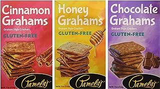 Pamelas Gluten-Free Graham Crackers Variety Pack (Chocolate, Cinnamon, Honey)