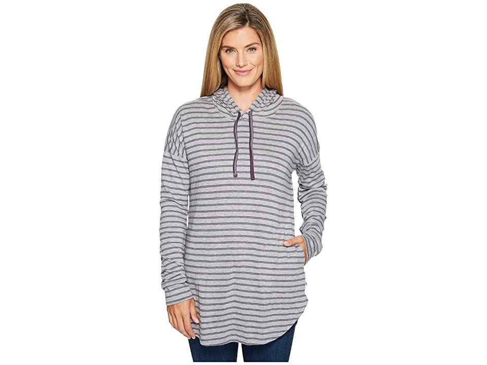 Toad&Co Profundo Hooded Tunic (Nightshade Stripe) Women