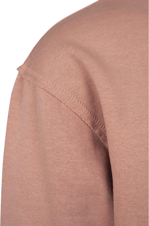 Urban Classics Oversized Open Edge Crew Sweatshirt Pull-Over Homme