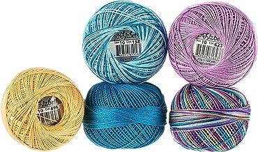 Handy Hands Lizbeth Specialty Pack Cordonnet Cotton Size 10-Ocean View 5/Pkg