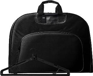 [グレヴィオ] 一流の鞄職人が作る ガーメントバッグ 防水 型くずれ防止 ポケット付き ガーメントケース 0L