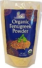Jiva Organic Fenugreek Powder (Methi) 7 Ounce Bag - Nearly 1/2 Pound!