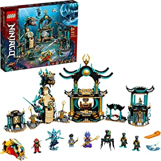 LEGO 71755 NINJAGO Temple of the Endless Sea Building Set, Underwater Playset with Ninja Kai, Toy for Kids 9+ Years Old