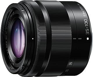 PANASONIC LUMIX G Vario Lens, 35-100mm, F4.0-5.6 ASPH., Mirrorless Micro Four Thirds, MEGA Optical I.S., H-FS35100K (USA BLACK)