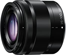 PANASONIC LUMIX G VARIO LENS, 35-100MM, F4.0-5.6 ASPH., MIRRORLESS MICRO FOUR THIRDS, MEGA OPTICAL I.S., H-FS35100K (USA BLACK)