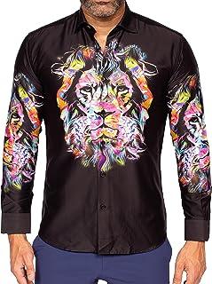 Mens Designer Dress Shirt SS - Stylish & Trendy -...