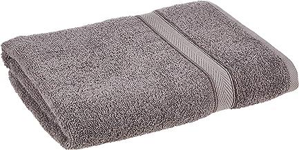 Princes PR_BT_GRY Cotton Terry Bath Towel, Grey, 70 x 140 cm