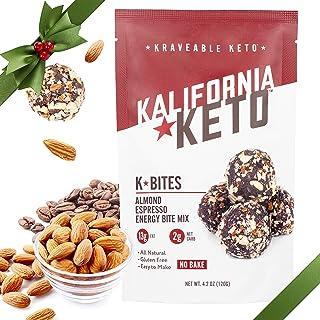 Kalifornia Keto Almond Espresso Keto Fat Bomb Mix (K Bites) - Low Carb, Keto-Friendly, and Sugar Free Keto ...
