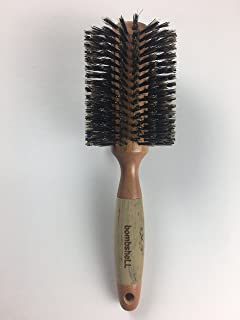 bombshell blowout Hair Brush Classic Round Sustainable Wood (3 inch)