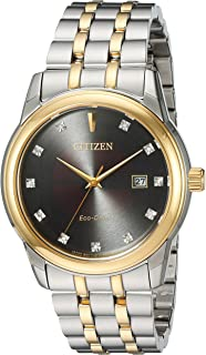 Best mens citizen eco drive watch with diamonds Reviews