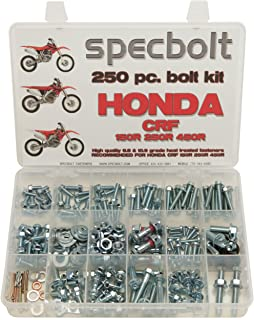SCATTER Red Complete kit Team Racing Graphics kit compatible with Honda 2002-2012 Polisport Restyled CR 125R//250R
