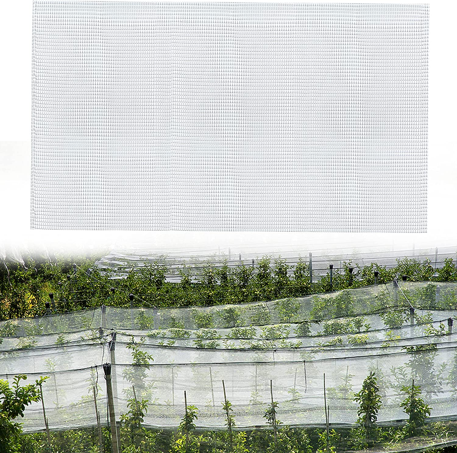 Worldity 20Ft x 10Ft Mosquito Recommendation Bug Barrier Insect Net Huntin unisex Bird