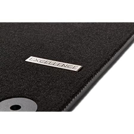 Kh Teile Fußmatten W203 S203 Rips Automatten Original Qualität Ripsmatten 4 Teilig Schwarz Rot Auto