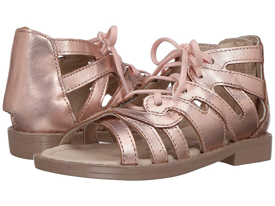 Old Soles Glamourama Sandal (Toddler/Little Kid) (Copper) Girls Shoes