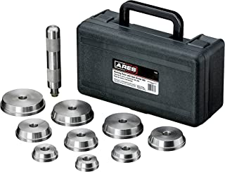 ARES 71003 - Bearing Race and Seal Driver Set - Universal Kit Allows for Easy Race and Seal Installation - Storage Case Included