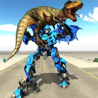 Transforming Dragon Robot VS Jurassic Dino World
