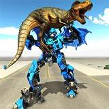 Verwandlung von Dragon Robot VS Jurassic Dino World