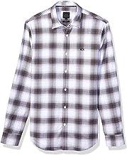 A|X Armani Exchange قميص رجالي بأكمام طويلة مع ياقة