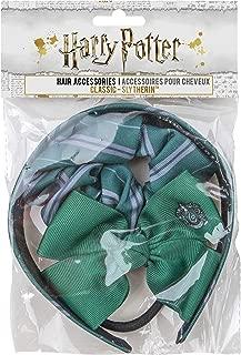 Harry Potter - Hair Accessories (Classic (Headband, Scrunchy, Bow), Slytherin)