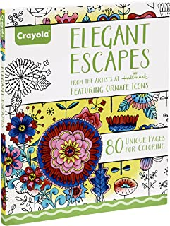 Crayola Elegant Escapes Coloring Book