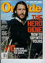Outside December 2009 Adventure Altruists / David DeRothschild / Reader of the Year / Chad / Martin Strel / Gift Guide