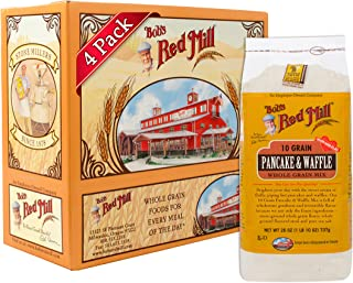 Bob's Red Mill 10 Grain Pancake & Waffle Mix, 26-ounce (Pack of 4)