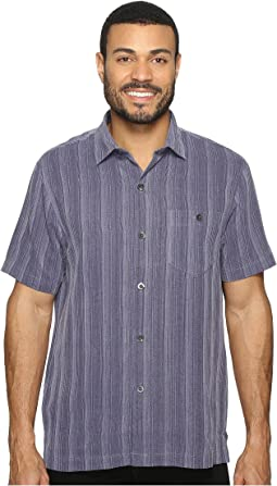 Zaldera Stripe Short Sleeve Woven Shirt