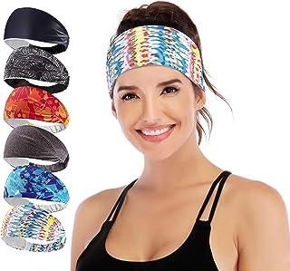 IUGA Headbands for Women, Non-Slip Workout Sweatbands for...