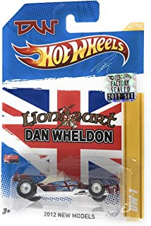 Hot Wheels 2012 New Models Chase 2011 Indycar Oval Course Race Dan Wheldon DW-1 Real Riders