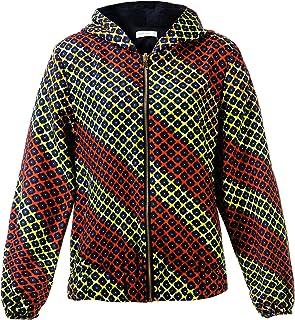 معطف Shenbolen النسائي بطبعة أفريقية